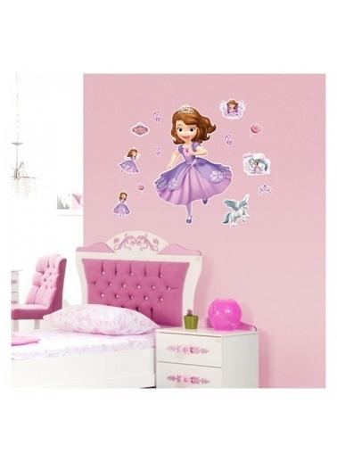 Disney Prenses Sofia 35x50 cm Duvar Sticker Renkli